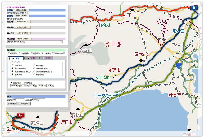 ルート検索API-地図システム開...